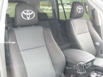 Перетяжка сидений экокожей Toyota Land Cruiser Prado (Тайота Ленд Круизер Прадо) 150
