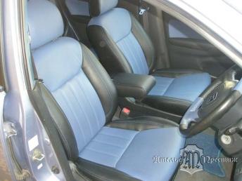 Перетяжка сидений и дверных вставок натуральной кожей Honda Civic (Хонда Цивик)
