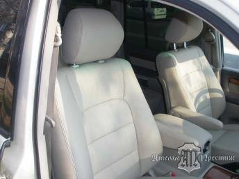 Перетяжка сидений и дверных вставок натуральной кожей Lexus LX (Лексус)