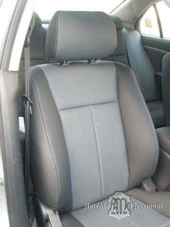 Перетяжка сидений натуральной кожей Chevrolet (Шевроле)