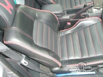 Перетяжка сидений натуральной кожей Honda Prelude (Хонда Прелюд)