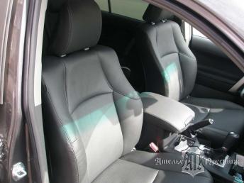 Перетяжка сидений натуральной кожей Toyota Land Cruiser Prado (Тайота Ленд Круизер Прадо) 150