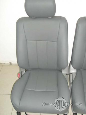Перетяжка сидений натуральной кожей Toyota Land Cruiser (Тайота Ленд Круизер) 105