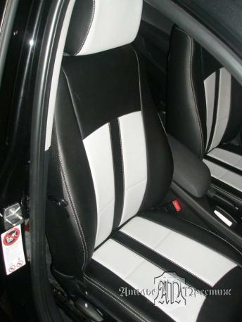 BMW (БМВ) Х1 2011 из экокожи Hortica