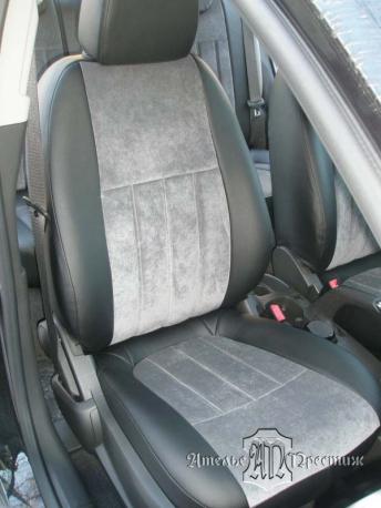 Chevrolet Aveo (Шевроле Авео) 2012 экокожа + велюр