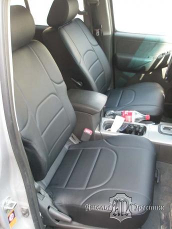 Nissan Pathfinder (Ниссан Патфайндер) из экокожи Аригон