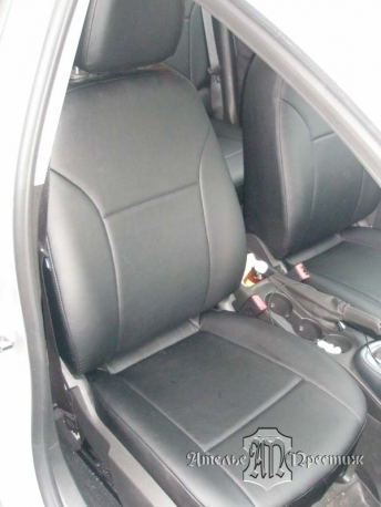Opel Astra (Опель Астра) седан 2013 из экокожи Аригон