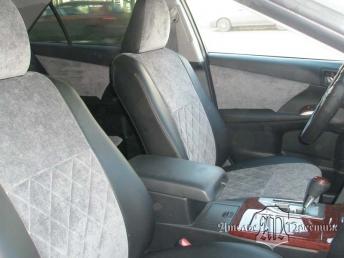 Toyota Camry (Тойота Камри) 2012 + двери экокожа и велюр