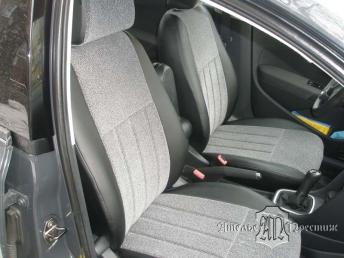 Volkswagen Polo (Фольксваген Поло) седан экокожа + велюр